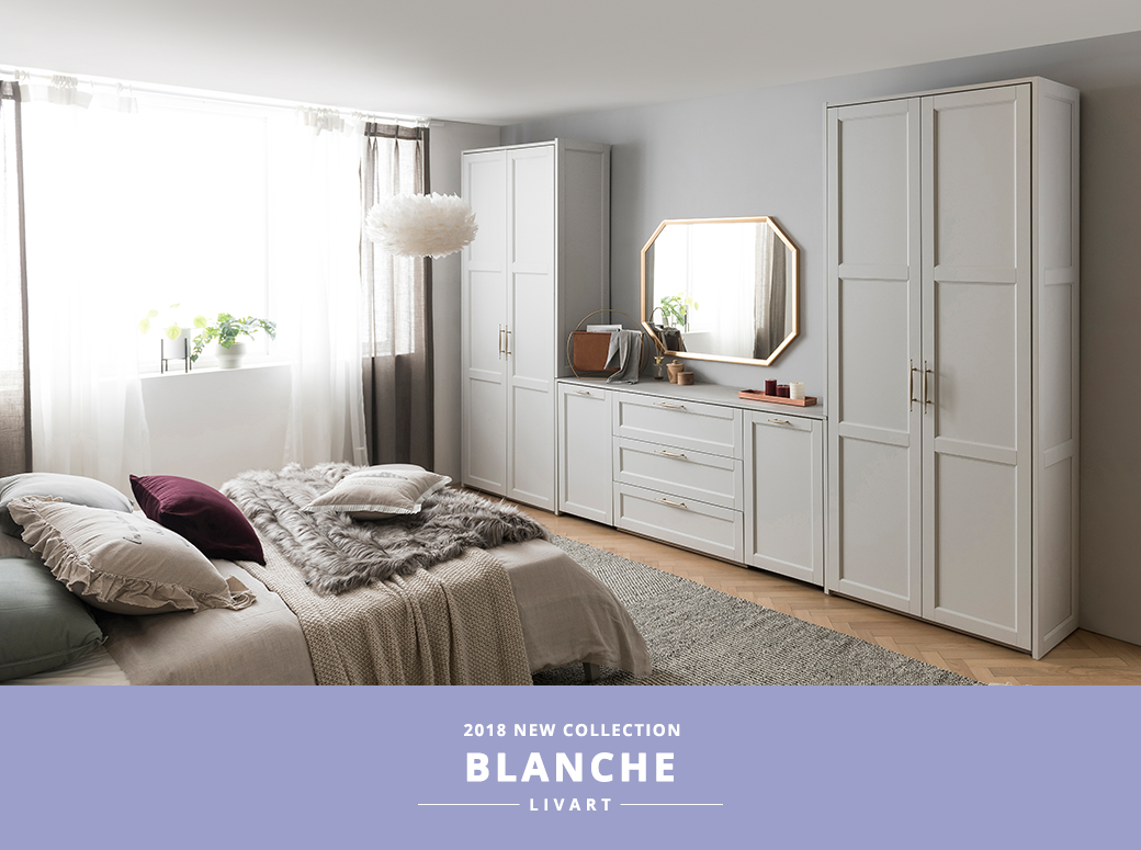 2018 NEW COLLECTION, BLANCHE, LIVART