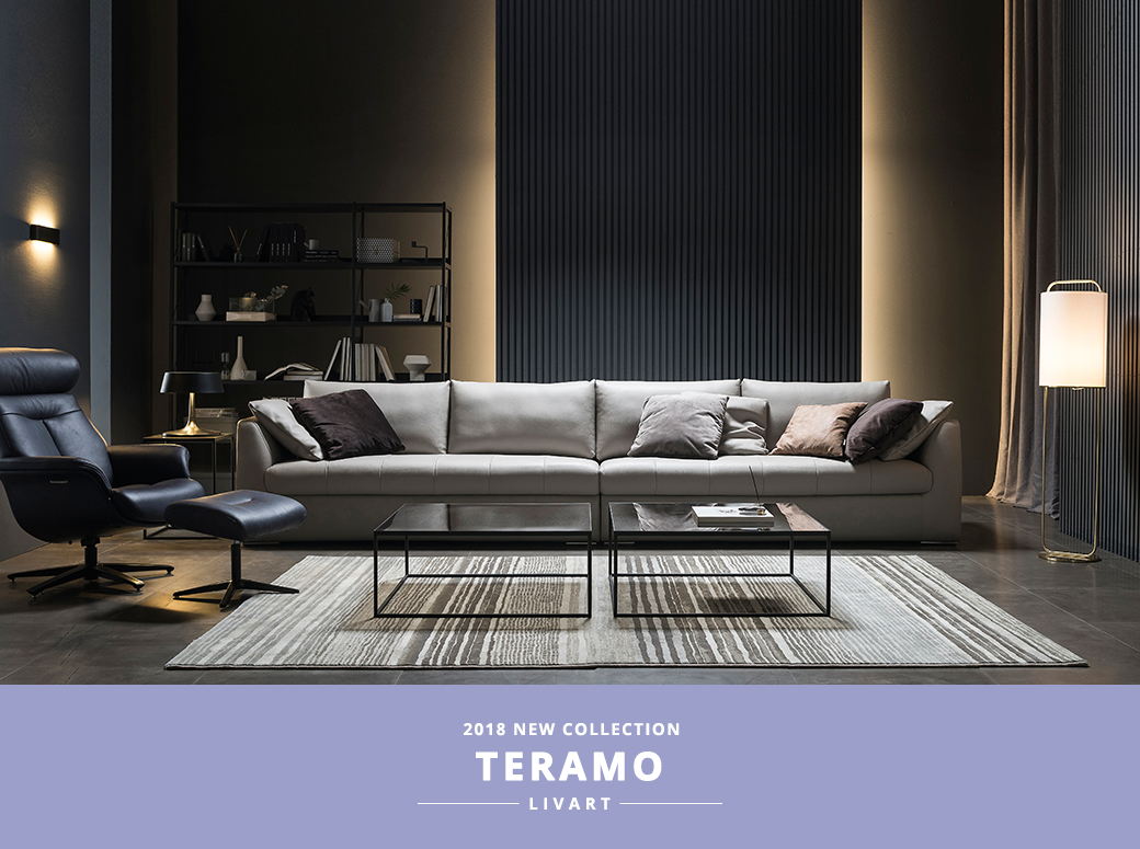 2018 NEW COLLECTION TERAMO LIVART